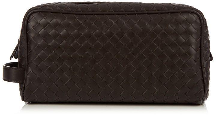 ef1aa71c81fb Bottega Veneta Intrecciato leather washbag Handbags For Men
