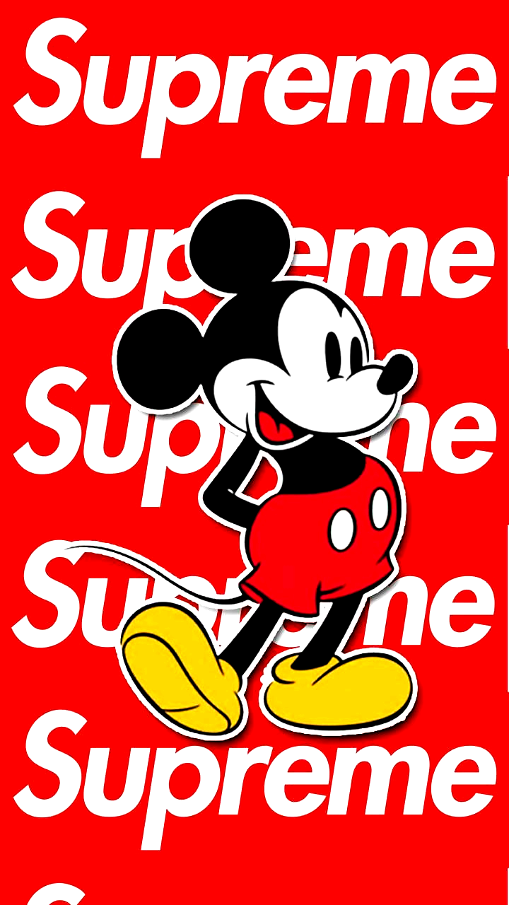Mickey Mouse Supreme Wallpaper By Agustinm08 Cb Free On Zedge Wallpapers In 2020 Supreme Wallpaper Mickey Mouse Wallpaper Supreme Iphone Wallpaper