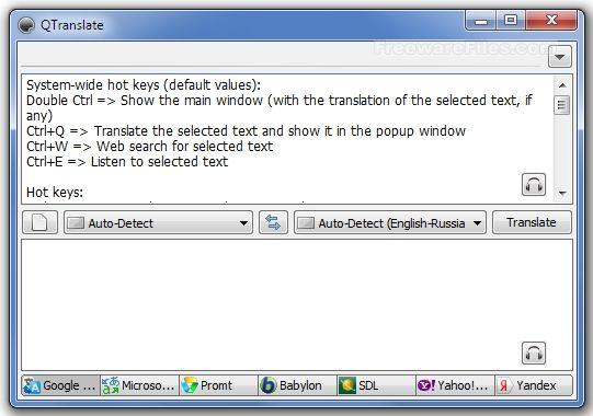 QTranslate 3 5 0: The Best Language Translator Program For Windows A