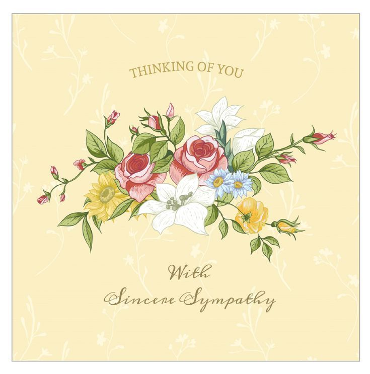 8 Free Printable Sympathy Cards For Any Loss Condolence Card Sympathy Cards Sympathy Thank You Notes