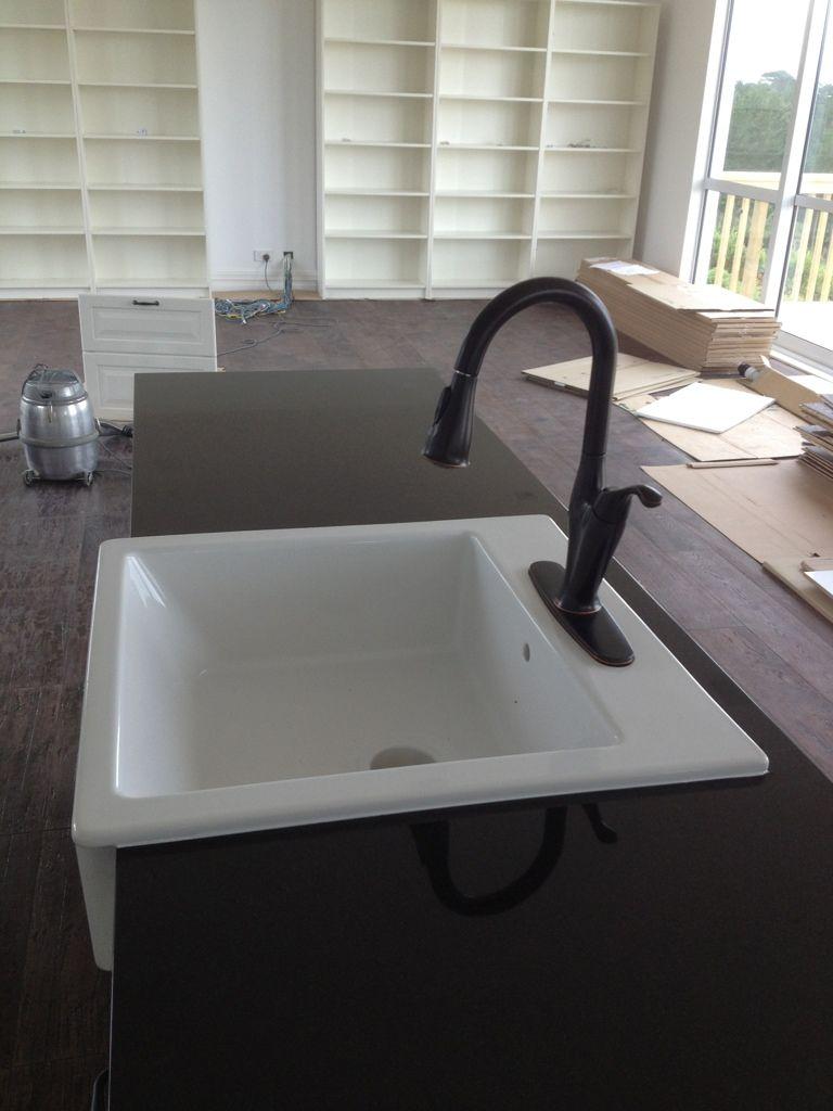 Domsjo Sink install | Kitchen | Pinterest | Sinks, Kitchen updates ...