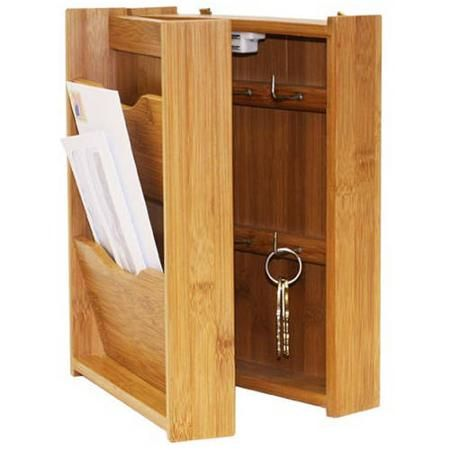 Office Supplies Key Box Wood Storage Box Key And Letter Holder