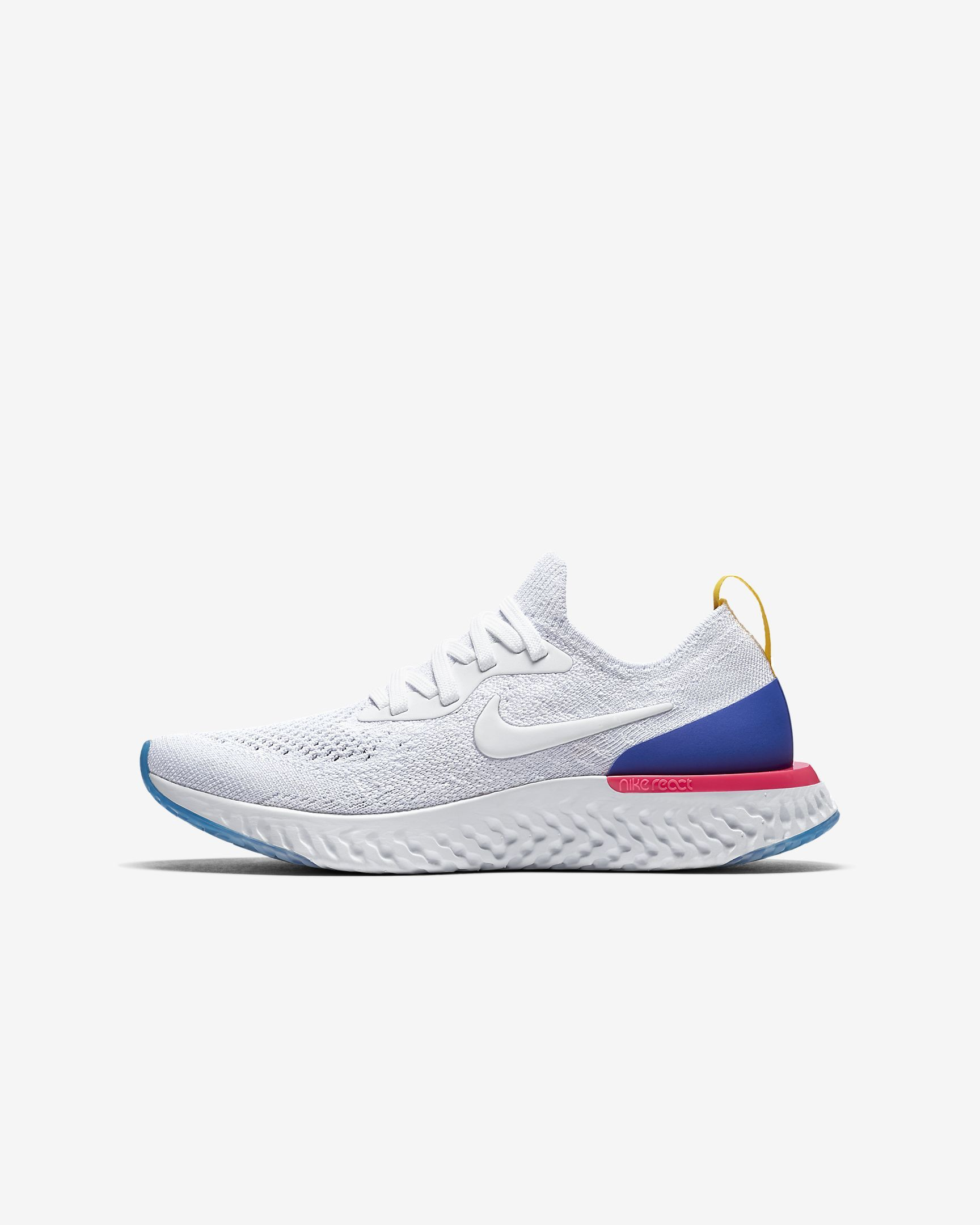 222a0b613a8 Nike Epic React Flyknit Older Kids  Running Shoe