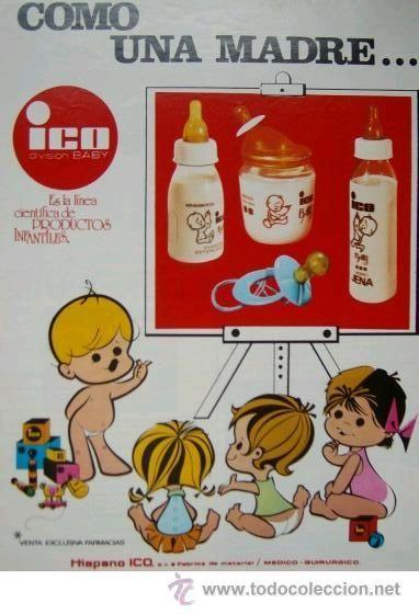 Anuncio Publicitario Biberones Ico Baby Productos Infantiles 1975 Biberones Anuncios Publicitarios Anuncios Vintage