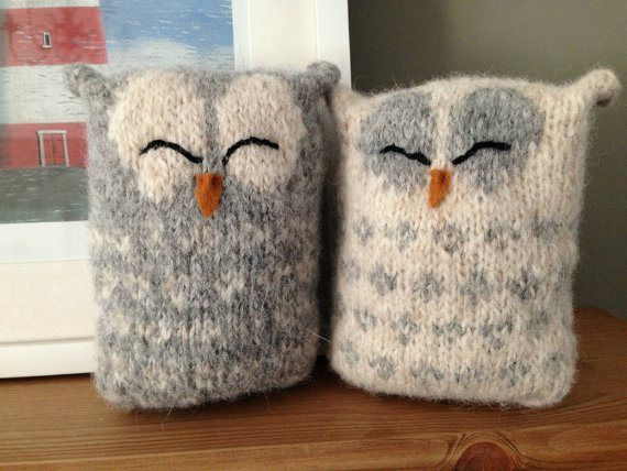 Love Owls Knitting Pattern Pinterest Knitting