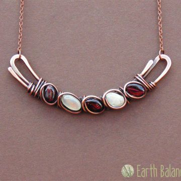 Rain Drops Necklace A handmade jewellery design inspired by the