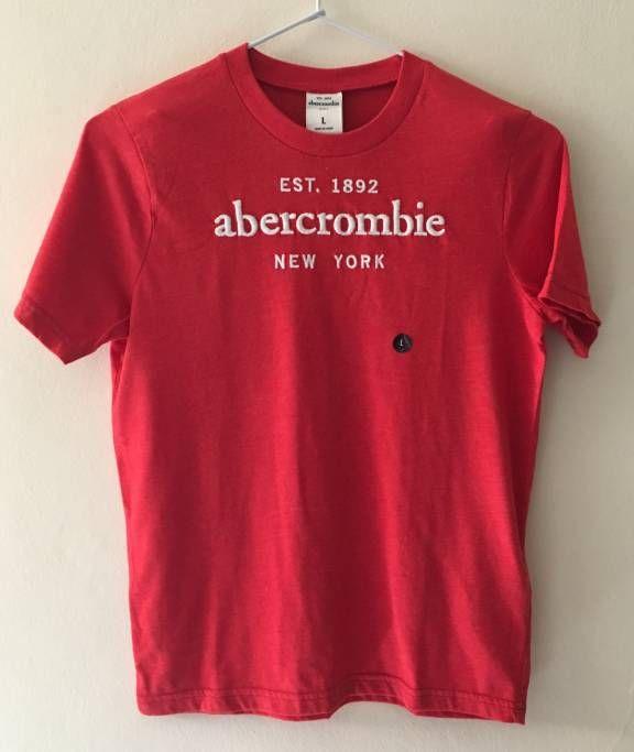 Camiseta Abercrombie Nova - 19677698 | enjoei :p