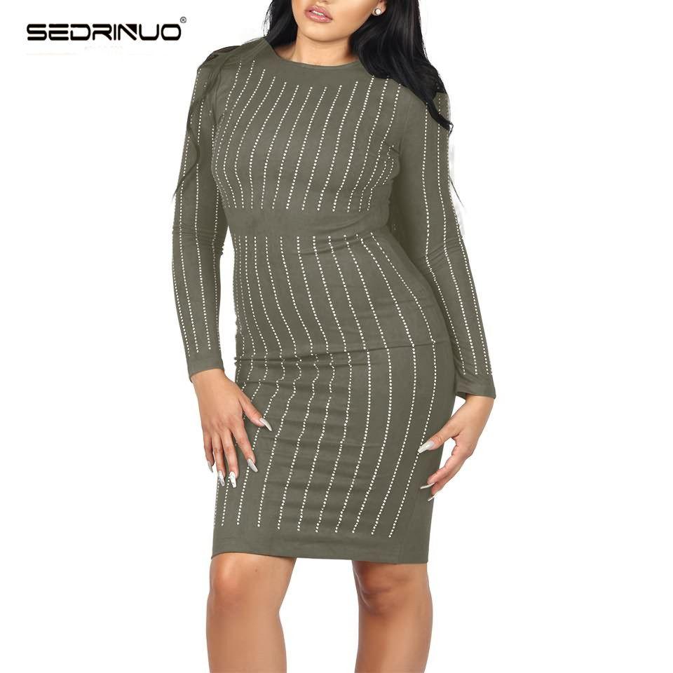 Click to buy ucuc sexy women winter runway dresses black long