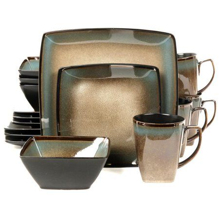 Gibson Tequesta 16-Piece Dinnerware Set #casualdinnerware