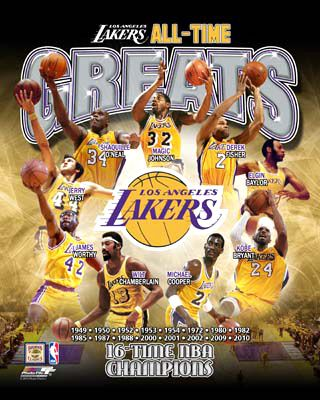 La Lakers All Time Greats 9 Legends 16 Championships Commemorative Poster Print Available At Www Sportsposterwa Los Angeles Lakers Kobe Bryant Poster Lakers