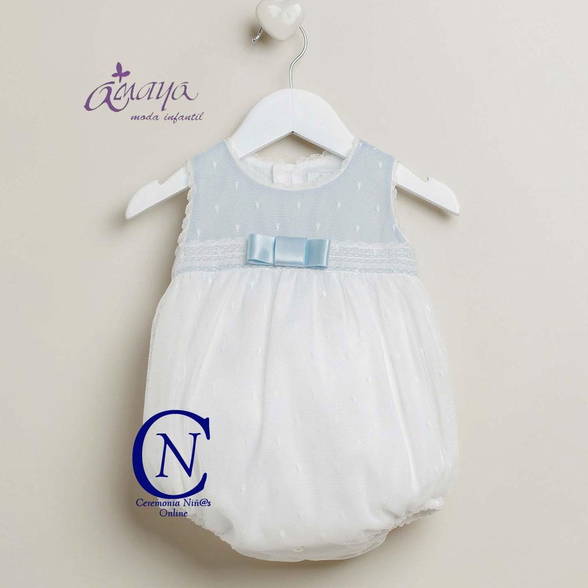 Pololo De Bautizo Para Bebe De Artesania Amaya Modelo 22101 Ropa De Bebe Online Ropa Tienda Moda