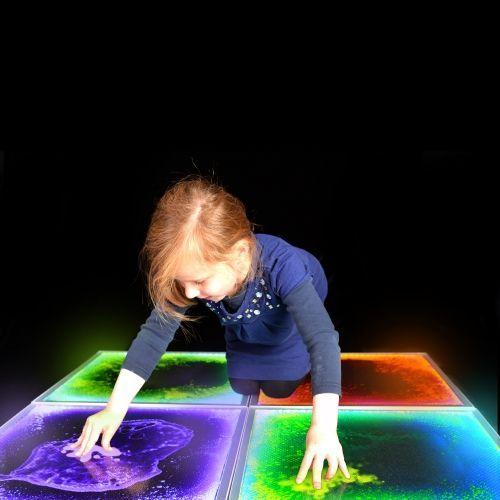 Large Sensory Light Up Floor Tile Sensory Room Autism