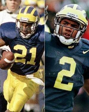 Desmond Howard and Charles Woodson Michigan  dcf72b650