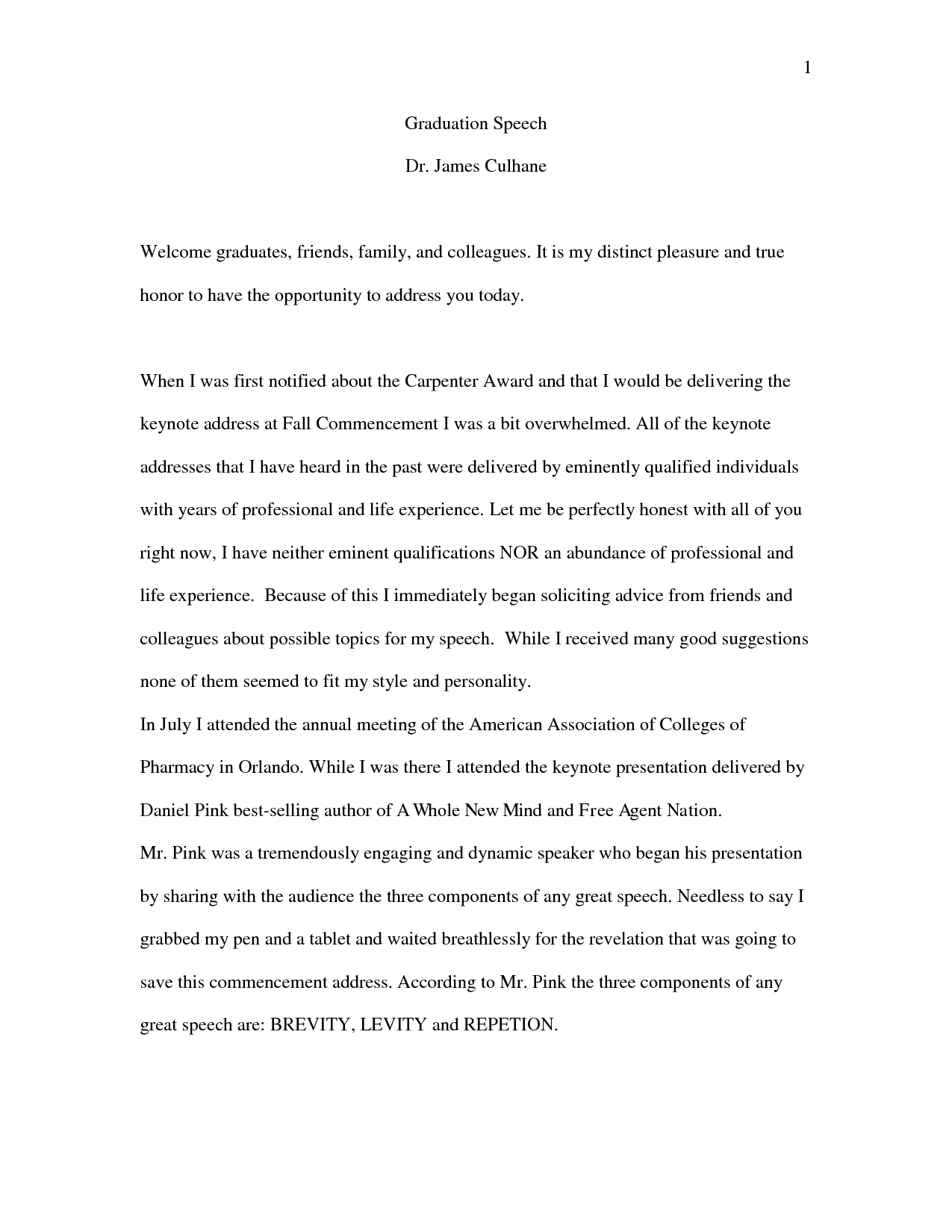 Topics Of Essays For High School Students  Reflective Essay Thesis Statement Examples also Essay Reflection Paper Examples Essay High School Graduation Speech How To Make A Middle  Thesis Statement For Comparison Essay