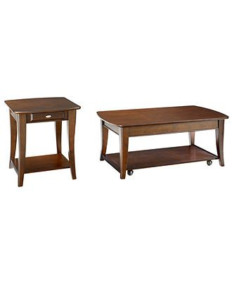 Closeout Quinn Table Collection 2 Piece Set Rectangular Coffee
