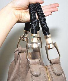97f594a0967c Как обновить старую сумку своими руками и фото, как обновить ручки сумки в  домашних условиях
