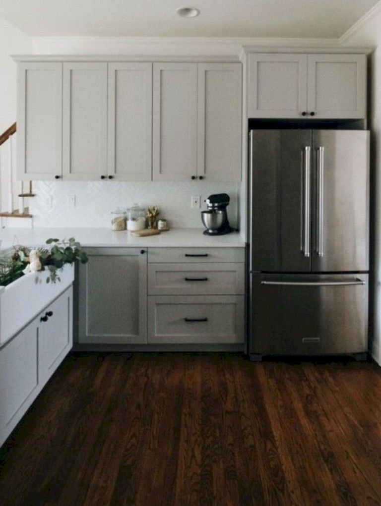 42 lovely gray kitchen design ideas with images