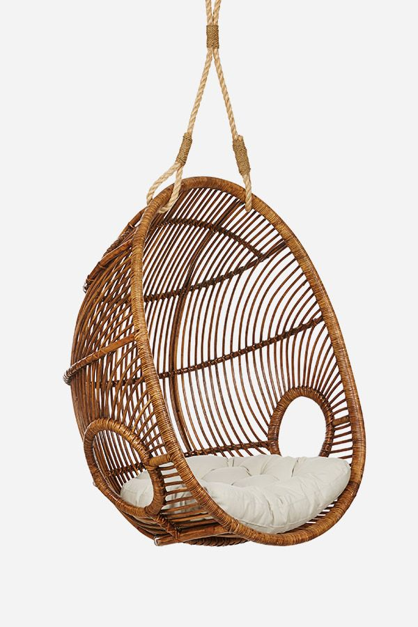 Hanging Chair Restoration Hardware Big Oversized Reading The Coconut Walnut Fenton And Outside