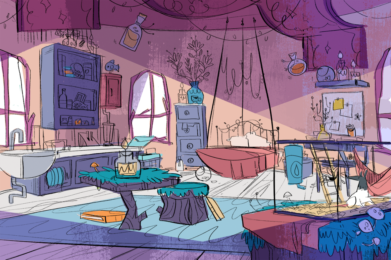 (14) Tumblr Environment concept art, Cartoon background