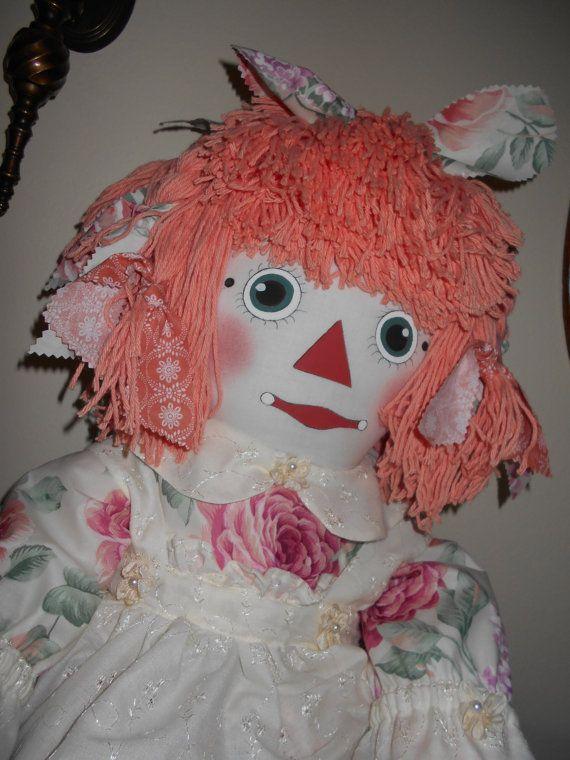 Raggedy Ann Dolls Custom Made by RaggedysbyAnne on Etsy, $150.00