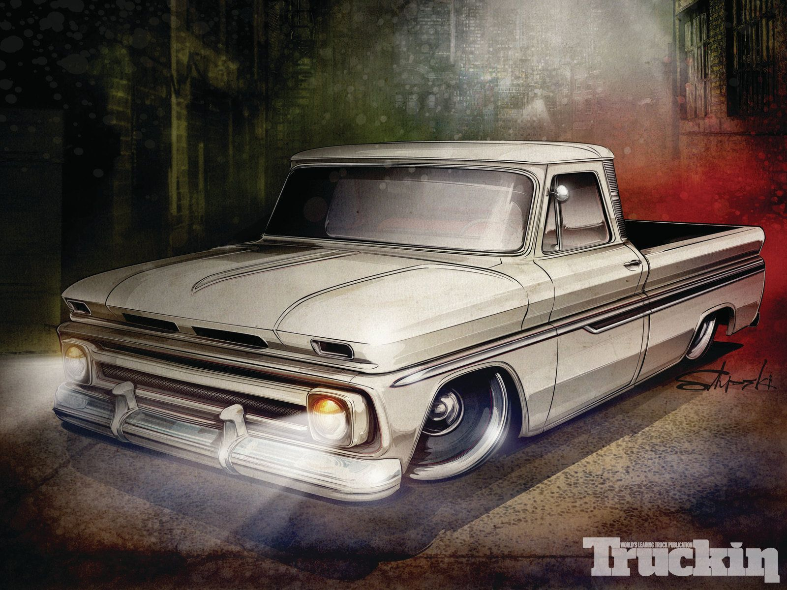 Chevrolet Vintage Truck Chevy Trucks Classic Chevy Trucks Lowrider Trucks
