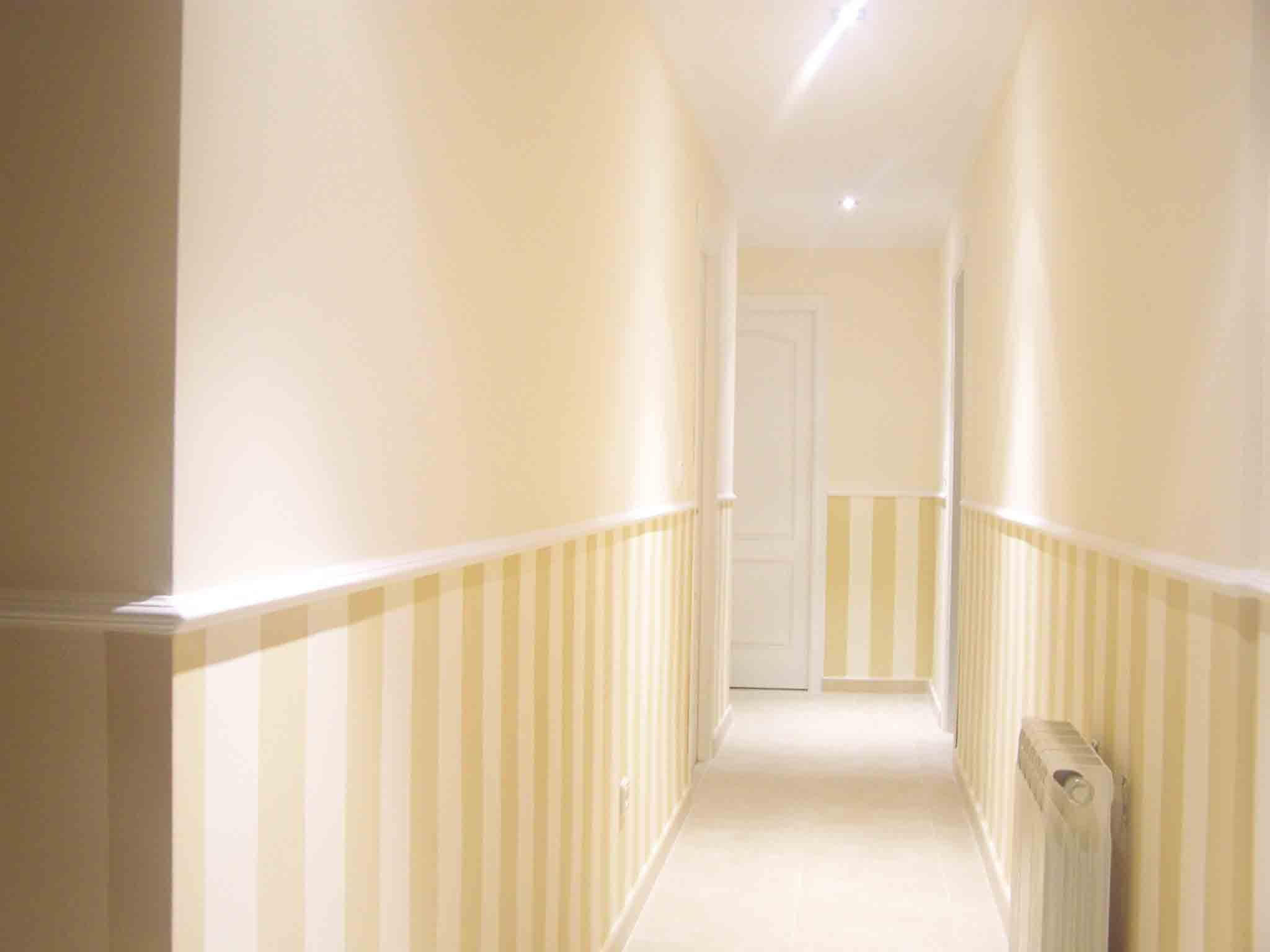 Pintar paredes desde la mitad hasta el suelo   Bedrooms