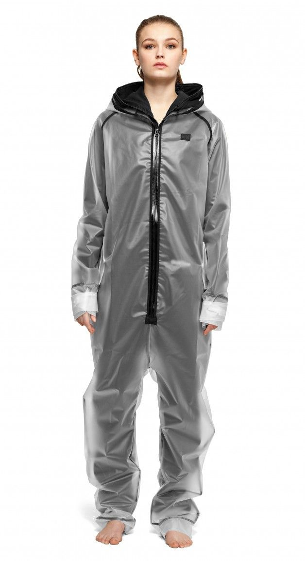 5f437c1a0dd65 Rain Jumpsuit Transparent frosted | Heavy Weather Duty Wear ...