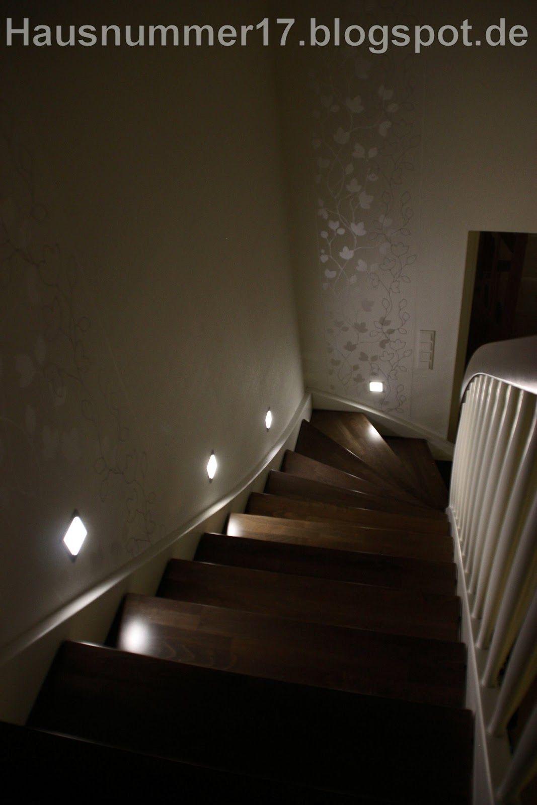 Amazing Hausnummer Flur LED Treppenlicht mit Frame Basic LEDs
