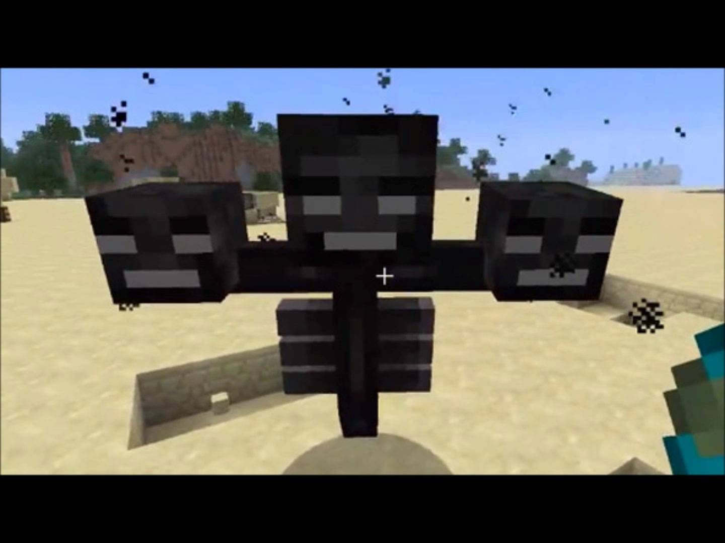how to build a wither boss in minecraft