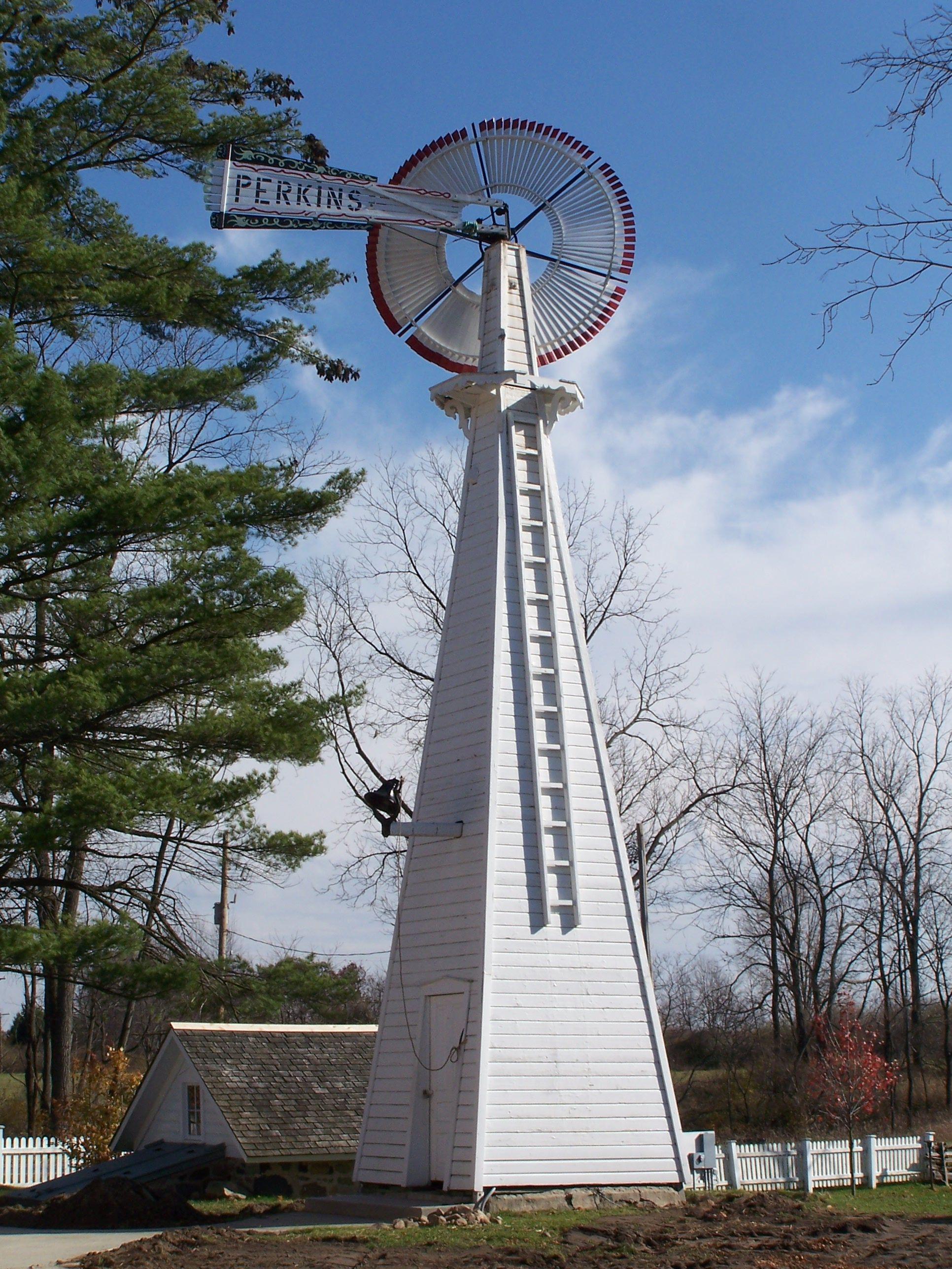 Perkins Windmill at the Waterloo Area Farm Museum near