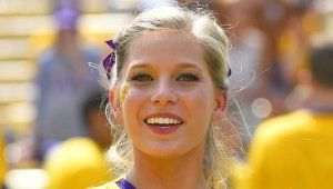 A look back at our 40 favorite cheerleaders from the 2013 college football season. They can cheer for us anytime!...