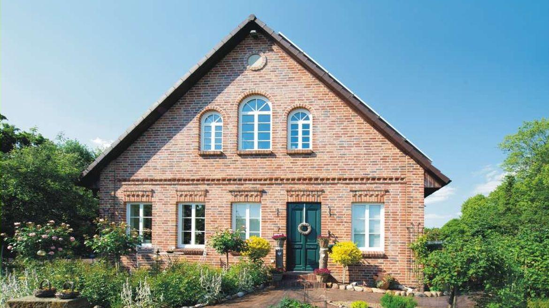 Stadtvilla roter klinker  Haus Westfalen – Landhaus Bauernhaus mit klassischem Klinker und ...
