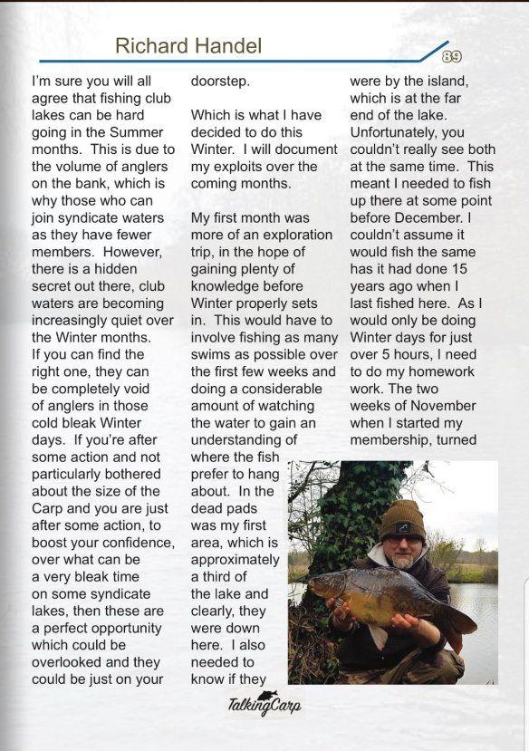 Talking Carp Magazine issue 48 | UK Carp & Coarse Fishing