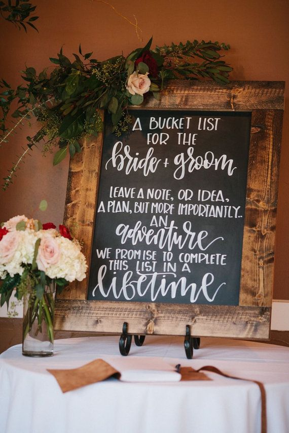 I love this idea for a wedding
