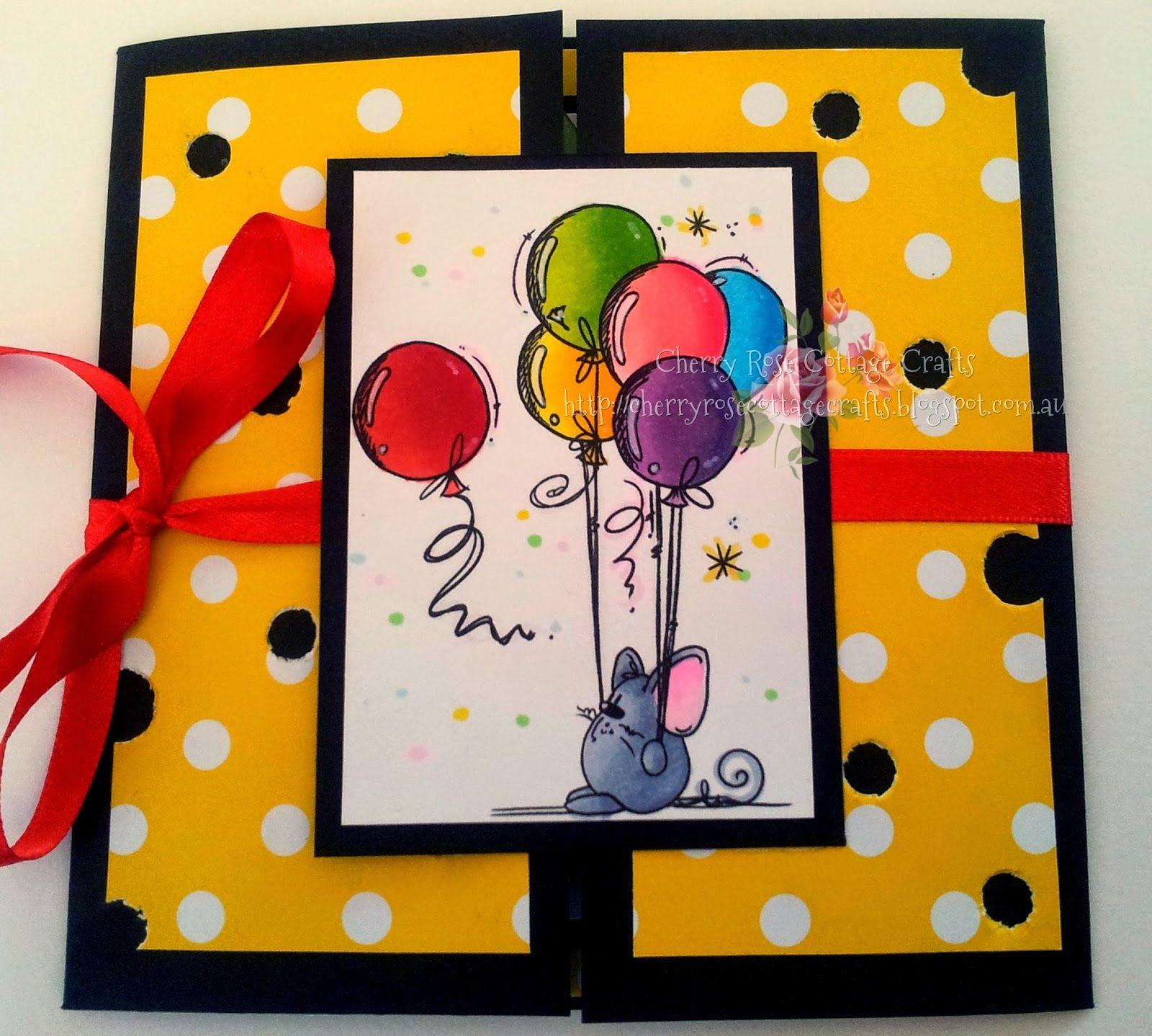 HAPPY BIRTHDAY MUMMY!! Mice Card!