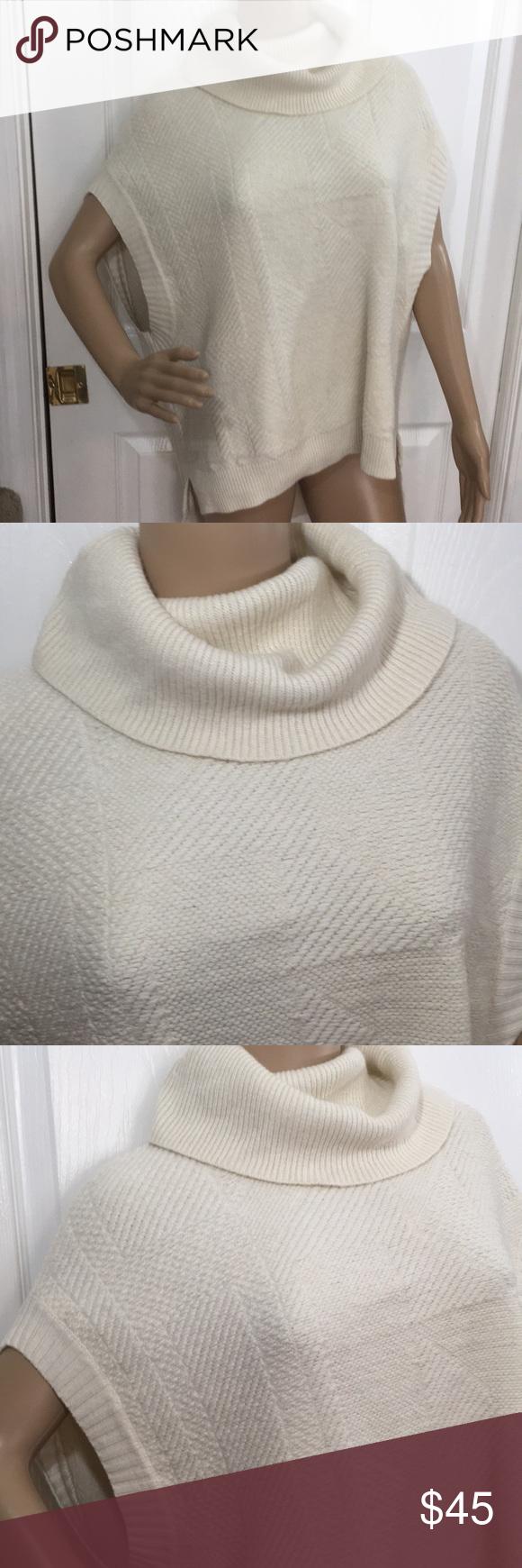 c97f7428444 BCBG Max Azria Oversized Sweater Beautiful off-white sleeveless sweater by BCBG  Max Azria