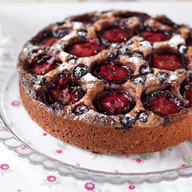 German Plum Cake Recipe Bbc