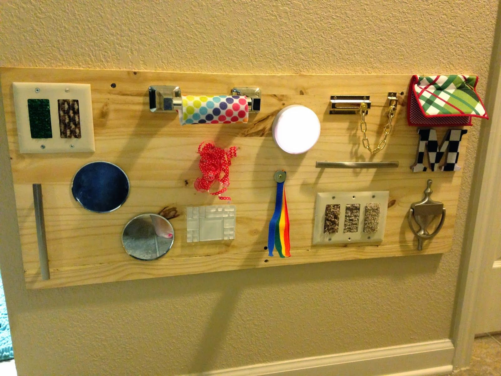 Sensory Toys For 12 Month Old : Sensory boards for year olds google search