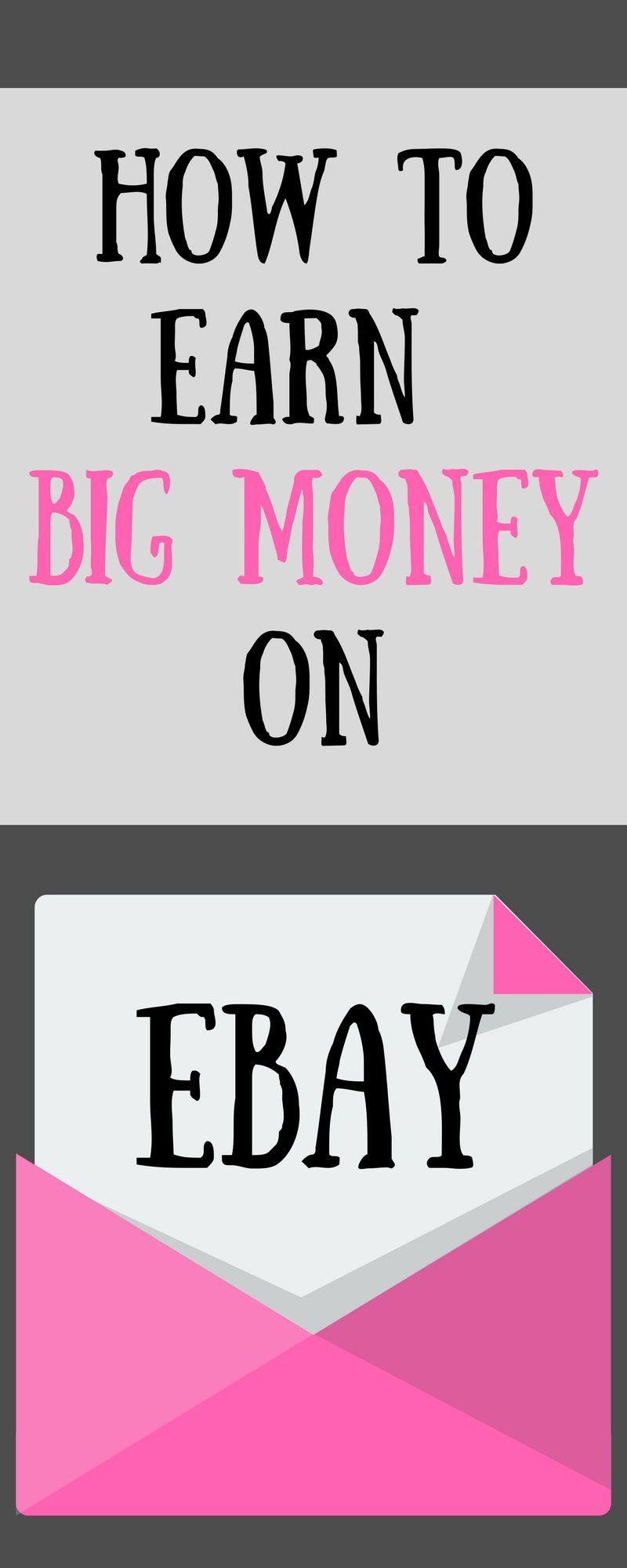 make money on ebay/ebay selling tips/how to sell on ebay/how to set up an ebay business/selling on ebay/ways to make money on ebay/how to earn big money/make money from home uk/make money online