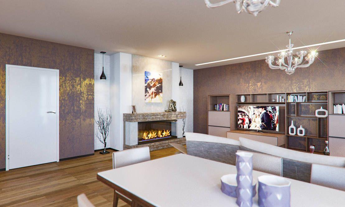 Das Wohnzimmer in Braun gestalten und zeitlos im Trend bleiben ...