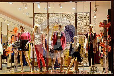 35fdcfa6c10 Boutique Window