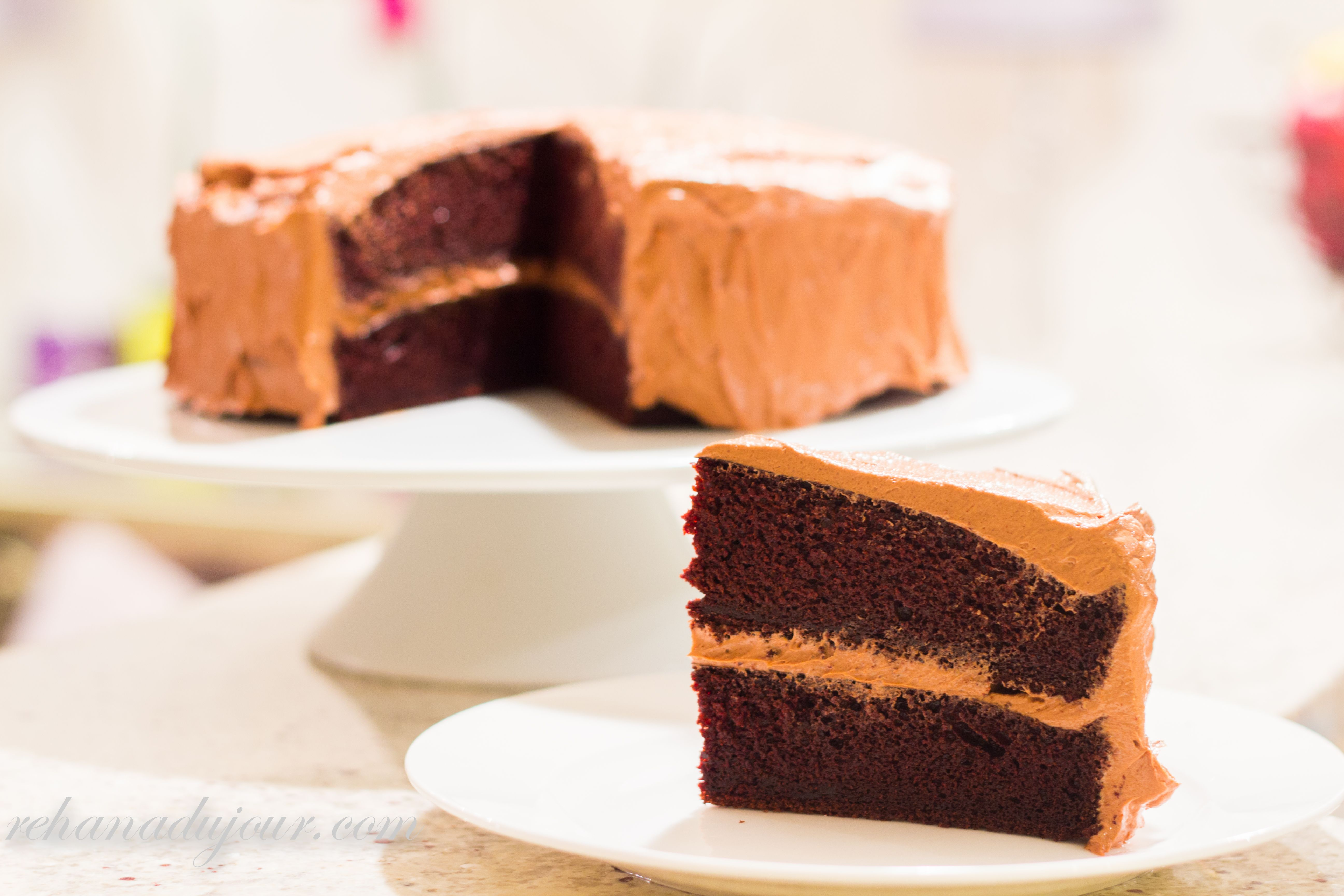 MADE Different Frosting Beattys Chocolate Cake By Ina Garten Unbelievably Great Easy