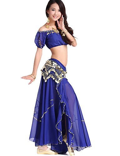 745b3fa1a Dancewear Chiffon and Velvet Belly Dance Outfit For Ladies More ...