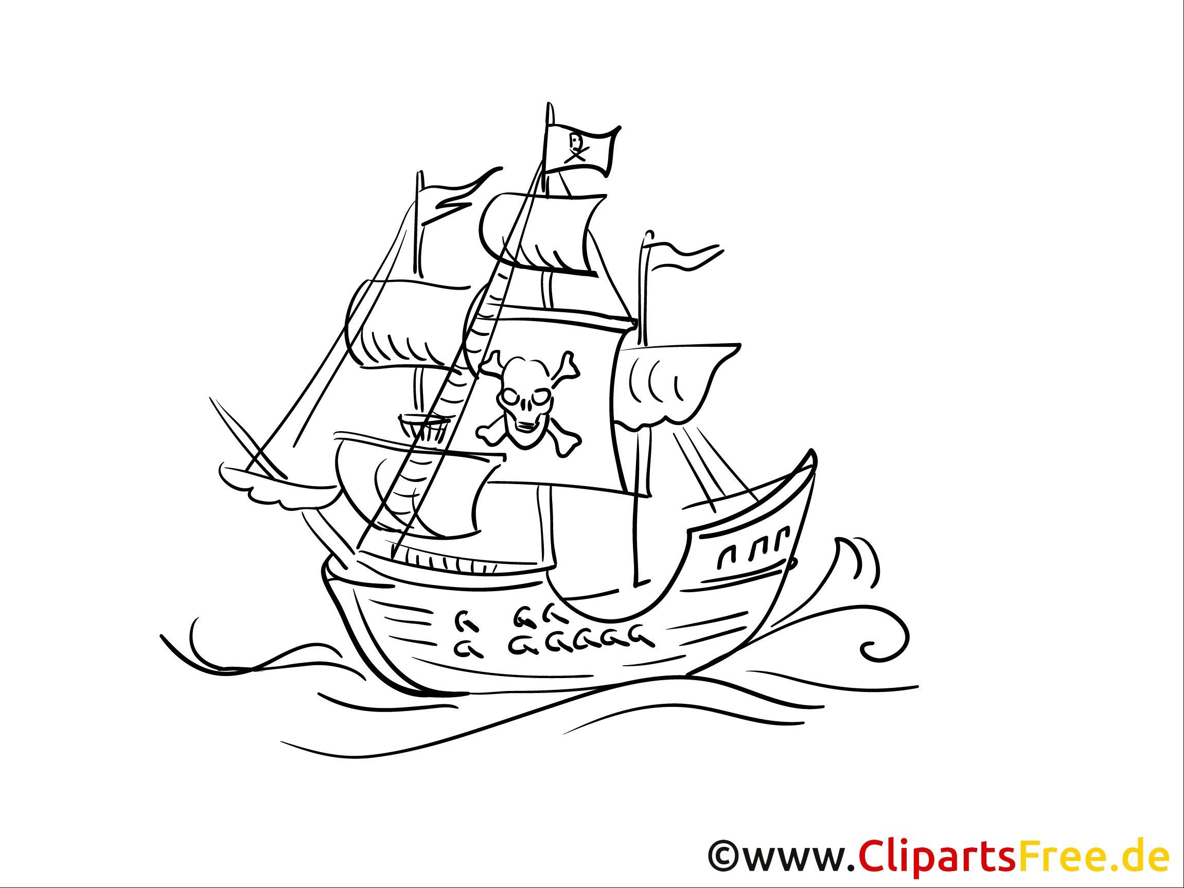 10 Besser Malvorlage Piratenschiff Erleuchtung 2020 ...