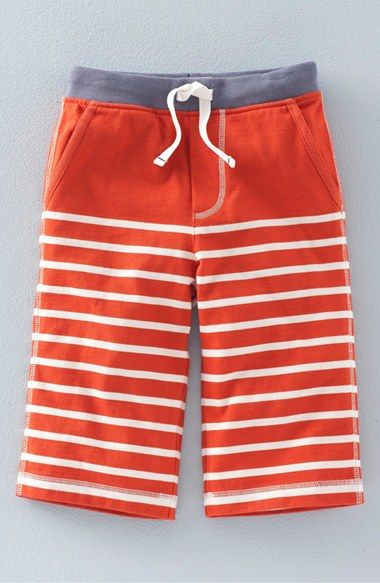 Mini Boden 'Baggies' Stripe Cotton Jersey Shorts (Toddler Boys, Little Boys & Big Boys)