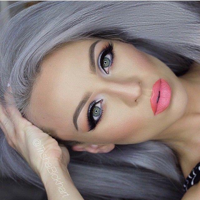Instagram media by beautybynargis - Make-up Inspo✨Wow! #mua #trishabickhart #motd #makeup #contour #eyebrows #brows #lashes #eyelashes #cutcrease #eyemakeup #lipstick #lips #beauty #blogger #fashion #wce #instamood #germany #instalook #instastyle #instabeauty #picoftheday #instapic #instadaily #instamakeup #inspiration #lipstick #qotd #beautyblogger