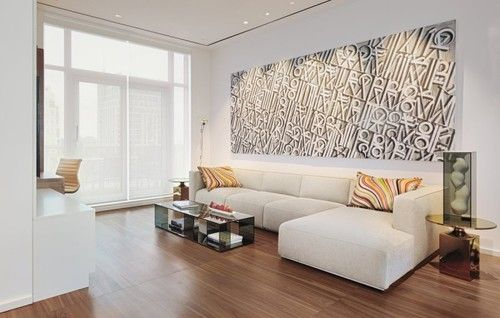 Living Space Art Sofa Yorkville Penthouse II In Toronto Canada By Cecconi Simone