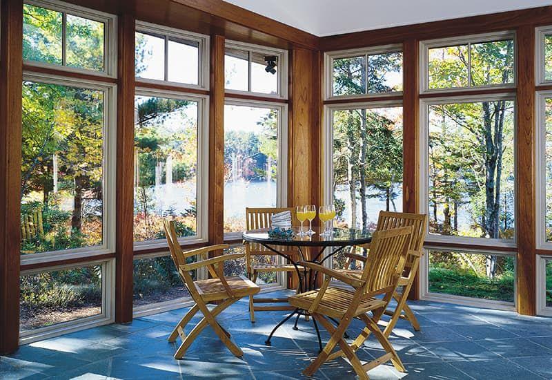 Best Windows For A Sunroom Pella Windows Sunroom Windows Three