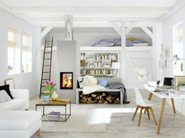einzimmerwohnung einrichten - tolle und praktische, Deko ideen