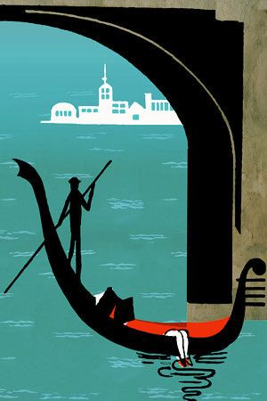 Gondola ride, Venice http://www.vintagevenus.com.au/products/vintage_poster_print-tv857
